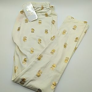 Simply southern womens leggings gold NEW OS
